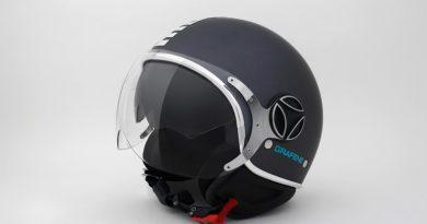 The new Graphene Helmet by IIT and Momodesign 1.