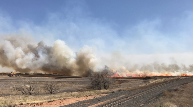 Several agencies are responding to the Panhandle fires.