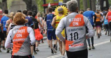 Marathon effort: Vets put in hard yards for equine charity