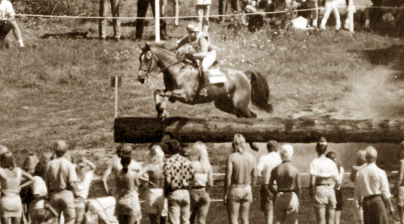 David O'Connor and Wilton Fair at the 1990 World Championships in Stockholm.
