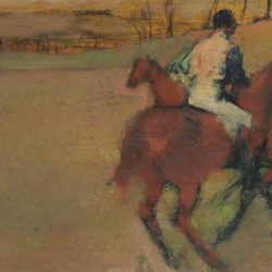 Horse painting by Edgar Degas expected to fetch up to $US2m