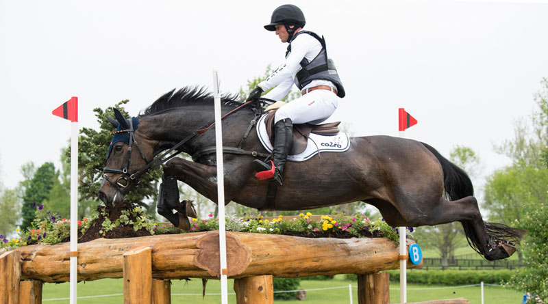 Michael Jung and FischerRocana FST took the lead after cross country at Kentucky.