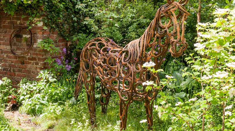 Gold Medal For Equine Themed Garden At Chelsea Flower Show