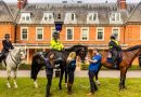 Police horses step up for national health survey