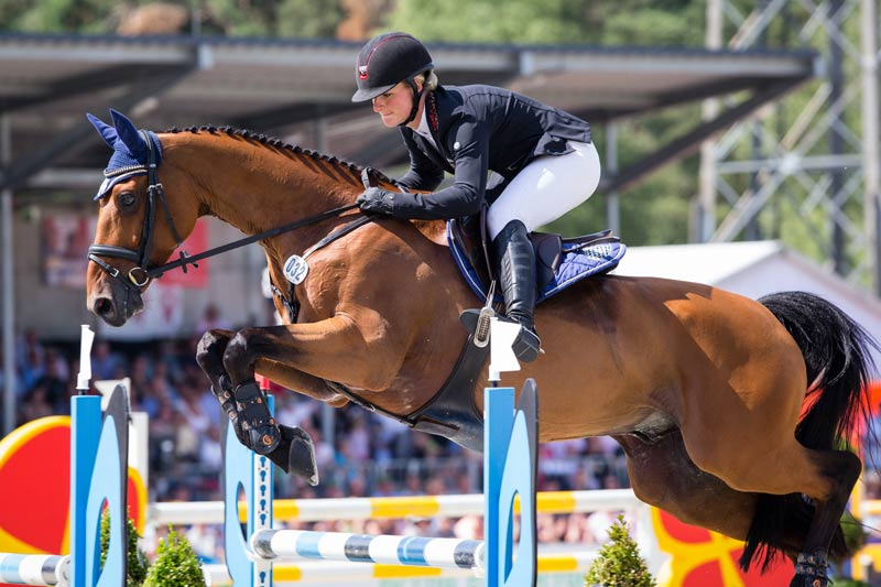 Julia Krajewski and Samourai du Thot won the Luhmühlen CCI 4* presented by DHL, at the weekend, the fifth leg of the FEI Classics.