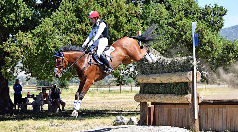 Dempsey and Tamra Smithat the 2017 Galway Downs CIC3*.