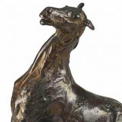 Edgar Degas horse bronze carries pre-auction estimate nudging $US1.5 million
