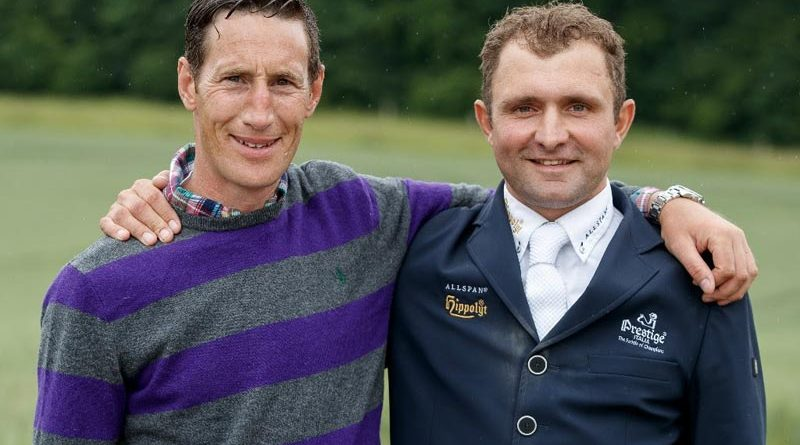 Dirk Schrade, left, and Christian Hess are taking over the equestrian centre at Radesforde in northern Germany.