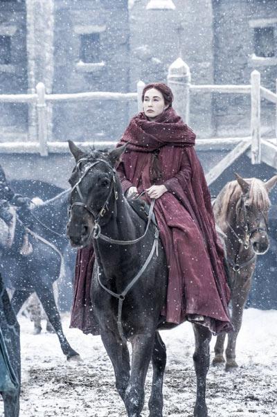 Carice van Houtenas Melisandre inGame of Thrones.