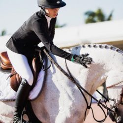 Hannah Selleck and Belora de Walyro at the Winter Equestrian Festival in Wellington, Florida. © Ashley Neuhof