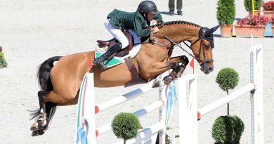 European Pony Show Jumping Champion Harry Allen with Cassandra van het Roelhof