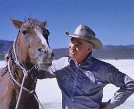 Clark Gable as Gay Langland in The Misfits.