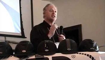 Charles Owen managing director Roy Burek.
