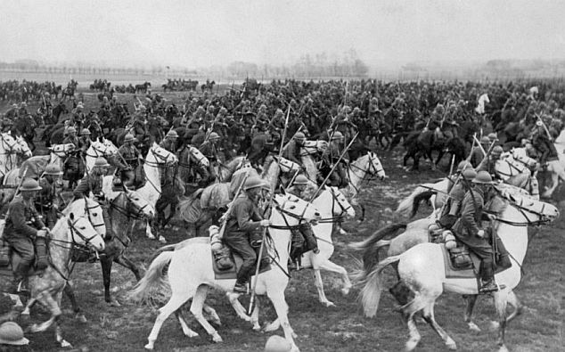 Millions of horses and mules were used during World War 1.