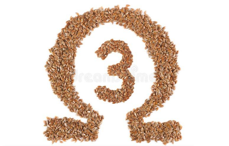 Flaxseed is high in Omega 3 oils.