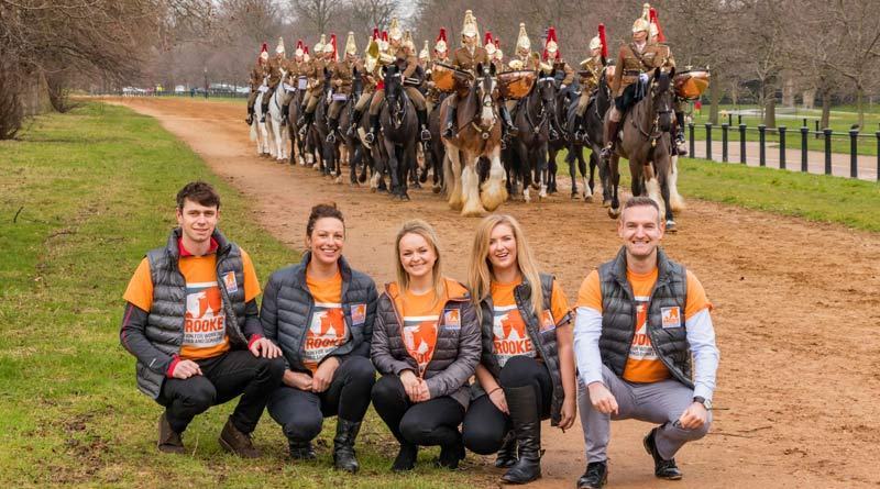British equestrians Harry Meade, Gemma Tattersall, Charlotte Dujardin, Alice Oppenheimer, andRichard Waygood are lending their support to Brooke's My Hackathon.TheHousehold Cavalry Mounted Regiment is preparing for the Major General's Inspection, and the Brooke team went along for the rehearsal.
