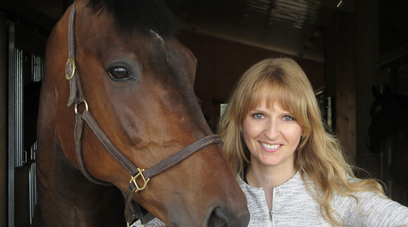 """Professor Kendra Coulter'sreport on the Ontario equine workforce would be a""""wakeup call about the severity of some problems""""."""