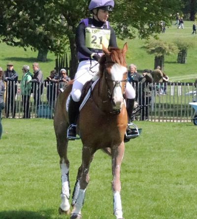 Emily King (GBR) and Dargun.