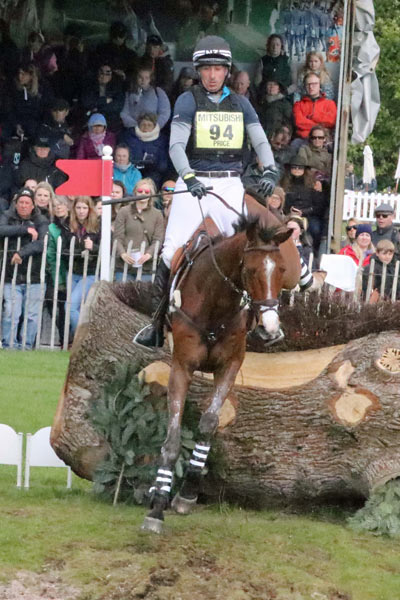 Tim Price and Ringwood Sky Boy are in sixth after the cross-country.